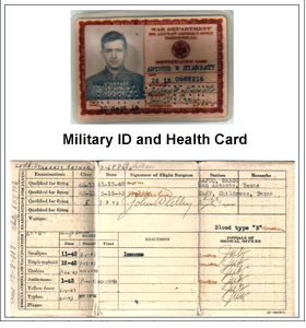 Military ID and Health Card